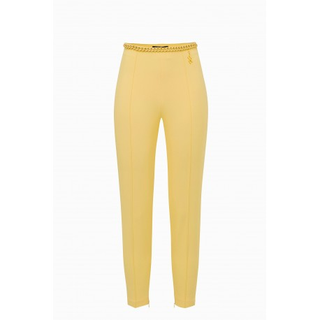 Pantalone skinny con catena - ELISABETTA FRANCHI