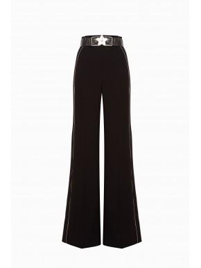 Pantalone a palazzo con cintura - ELISABETTA FRANCHI