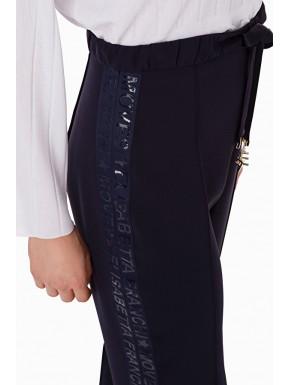 Pantalone con fascia logata - ELISABETTA FRANCHI