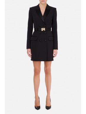 Robe manteau con cintura - ELISABETTA FRANCHI