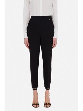 Pantalone doppio crêpe skinny - ELISABETTA FRANCHI