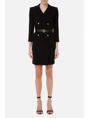 Robe manteau con accessori light gold - ELISABETTA FRANCHI